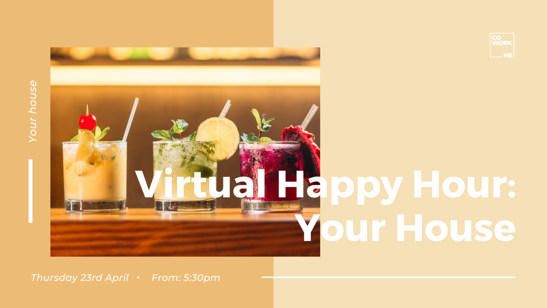 Virtual Happy Hour @Your House