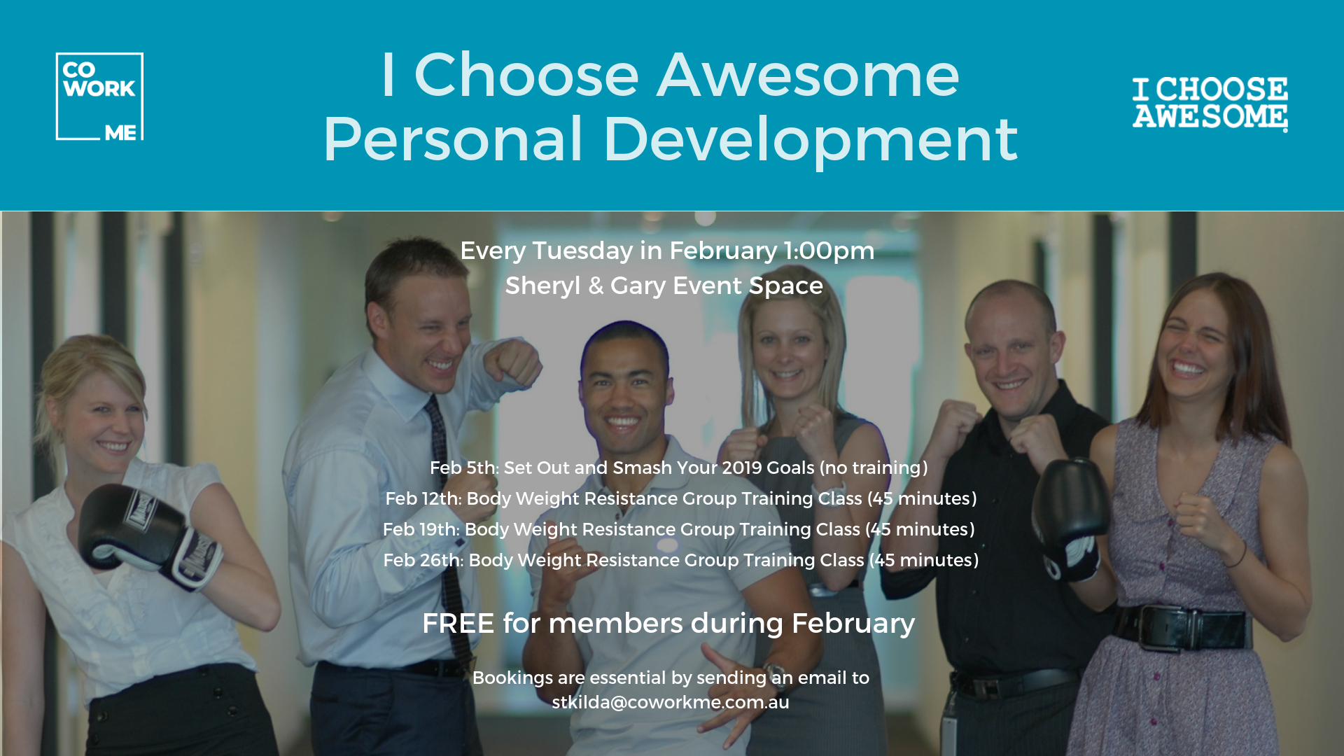 I Choose Awesome Personal Development