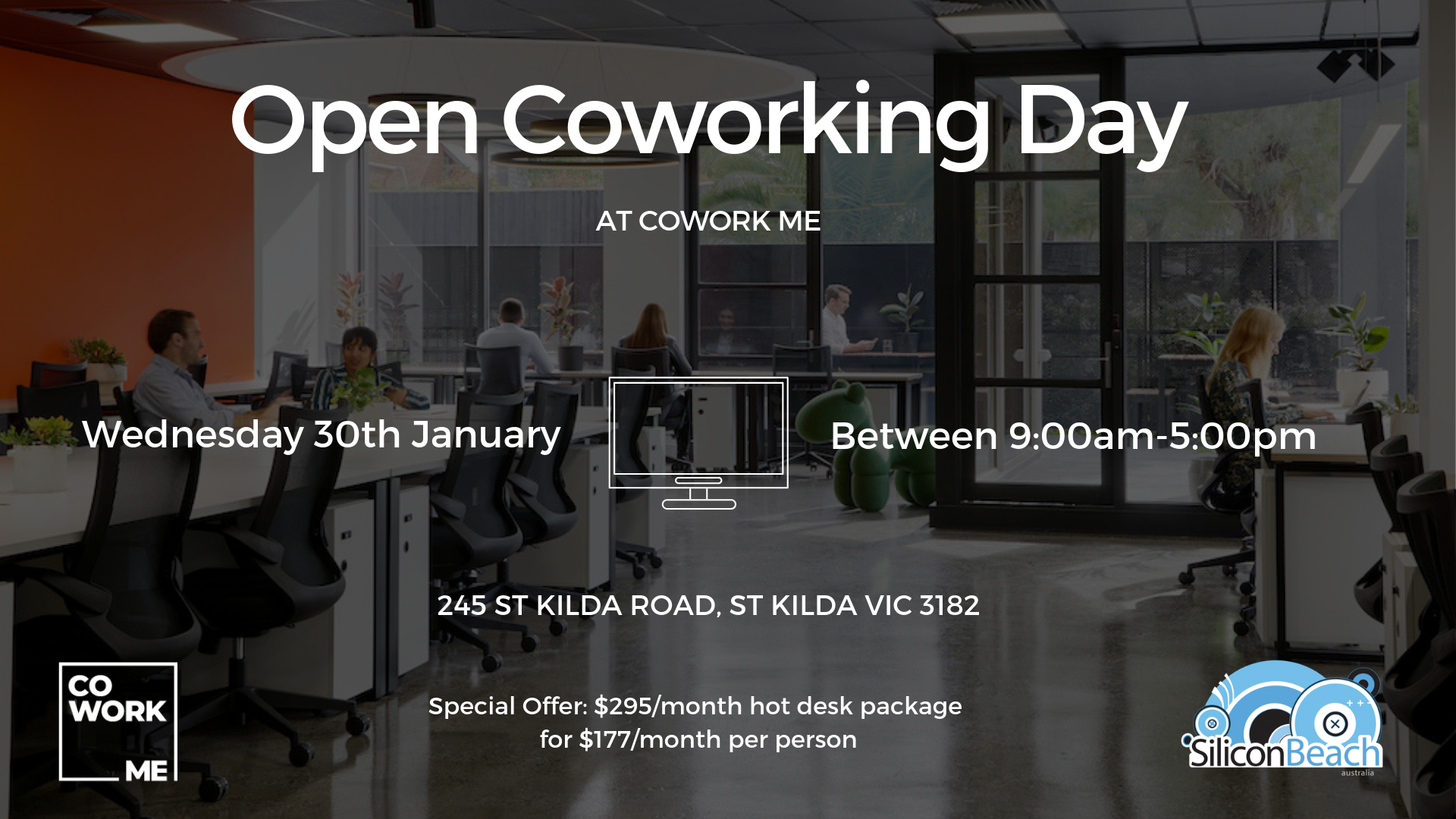 Silicon Beach Open Coworking Day @CoWork Me