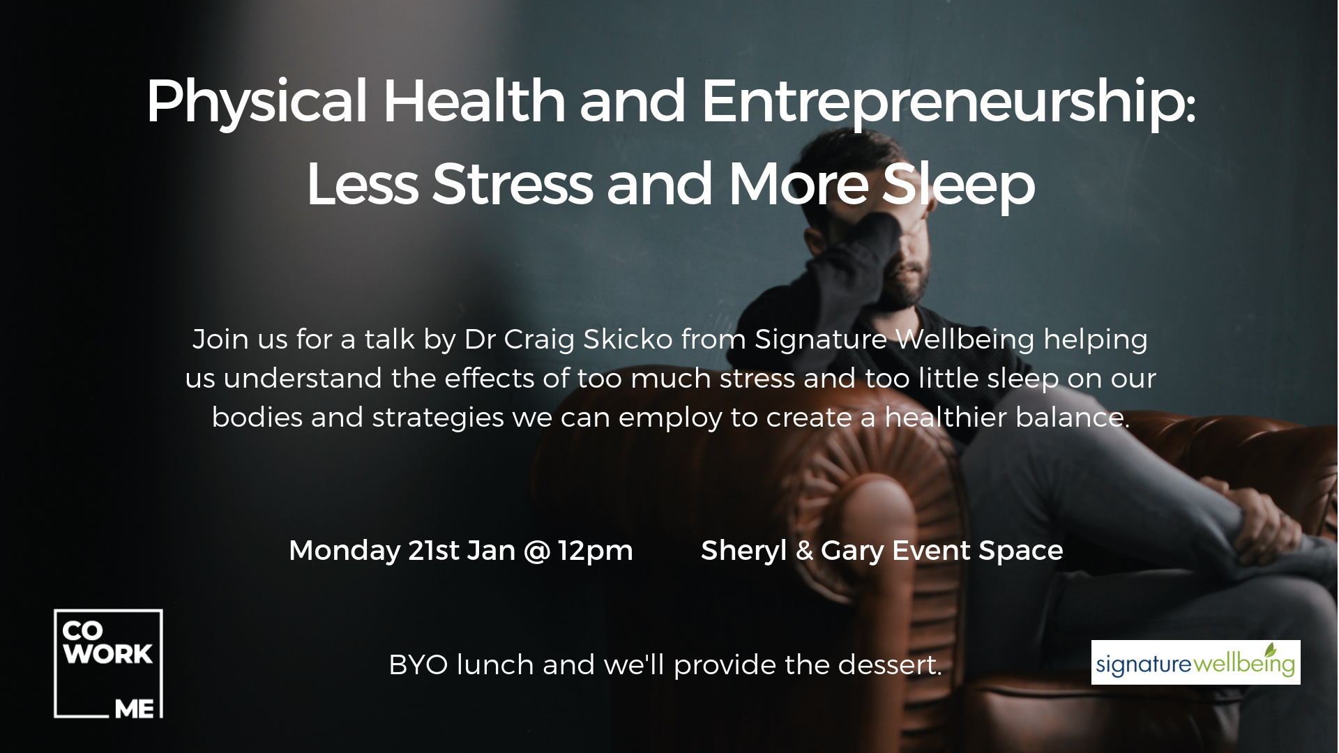 Physical Health and Entrepreneurship: Less Stress and More Sleep