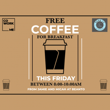 FREE COFFEE FRIDAY!