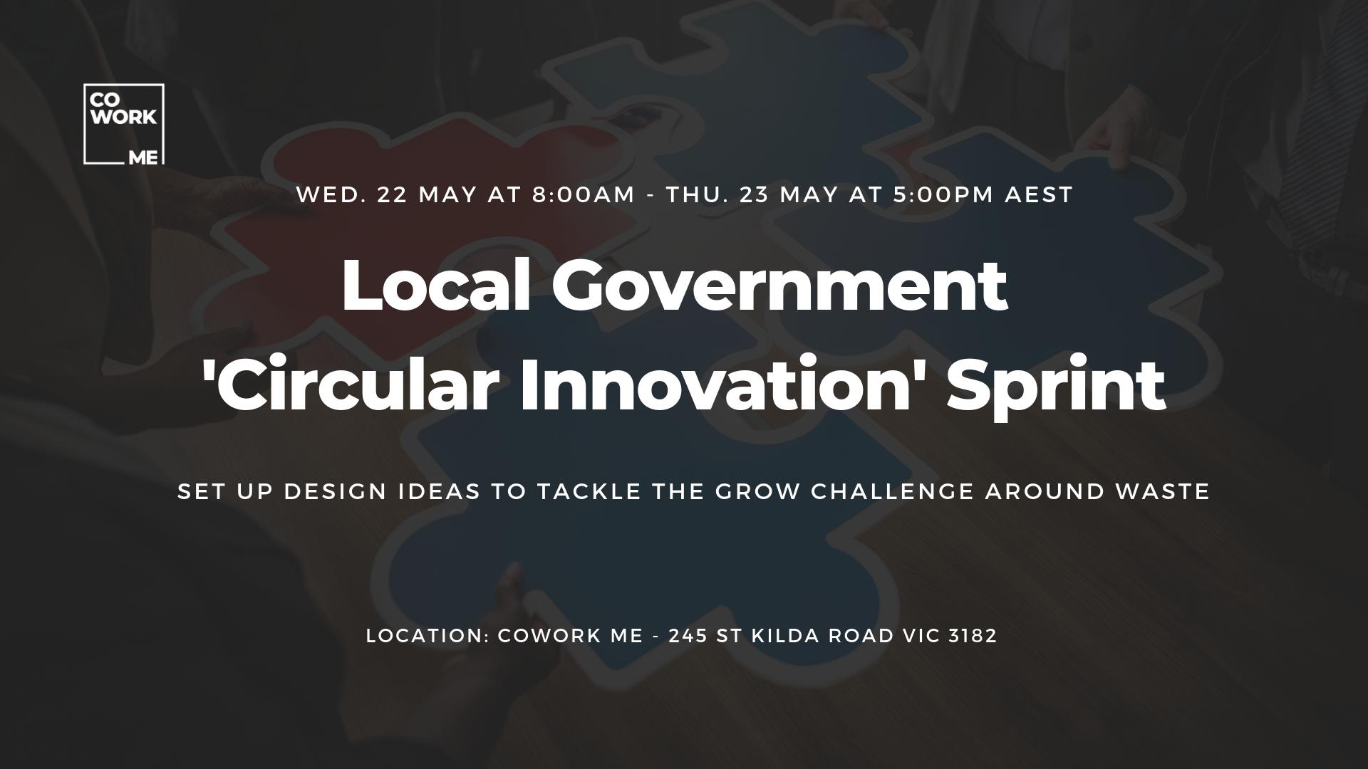 Local Government  'Circular Innovation' Sprint