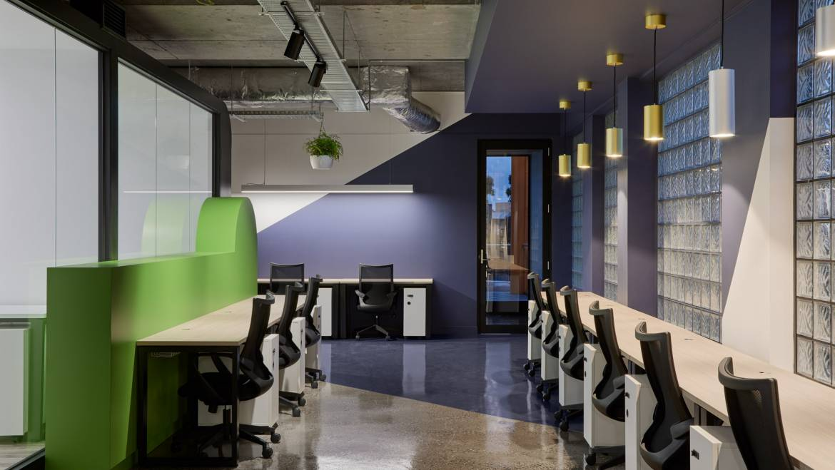 CoWork Me: Finalist in the Dulux Colour Awards