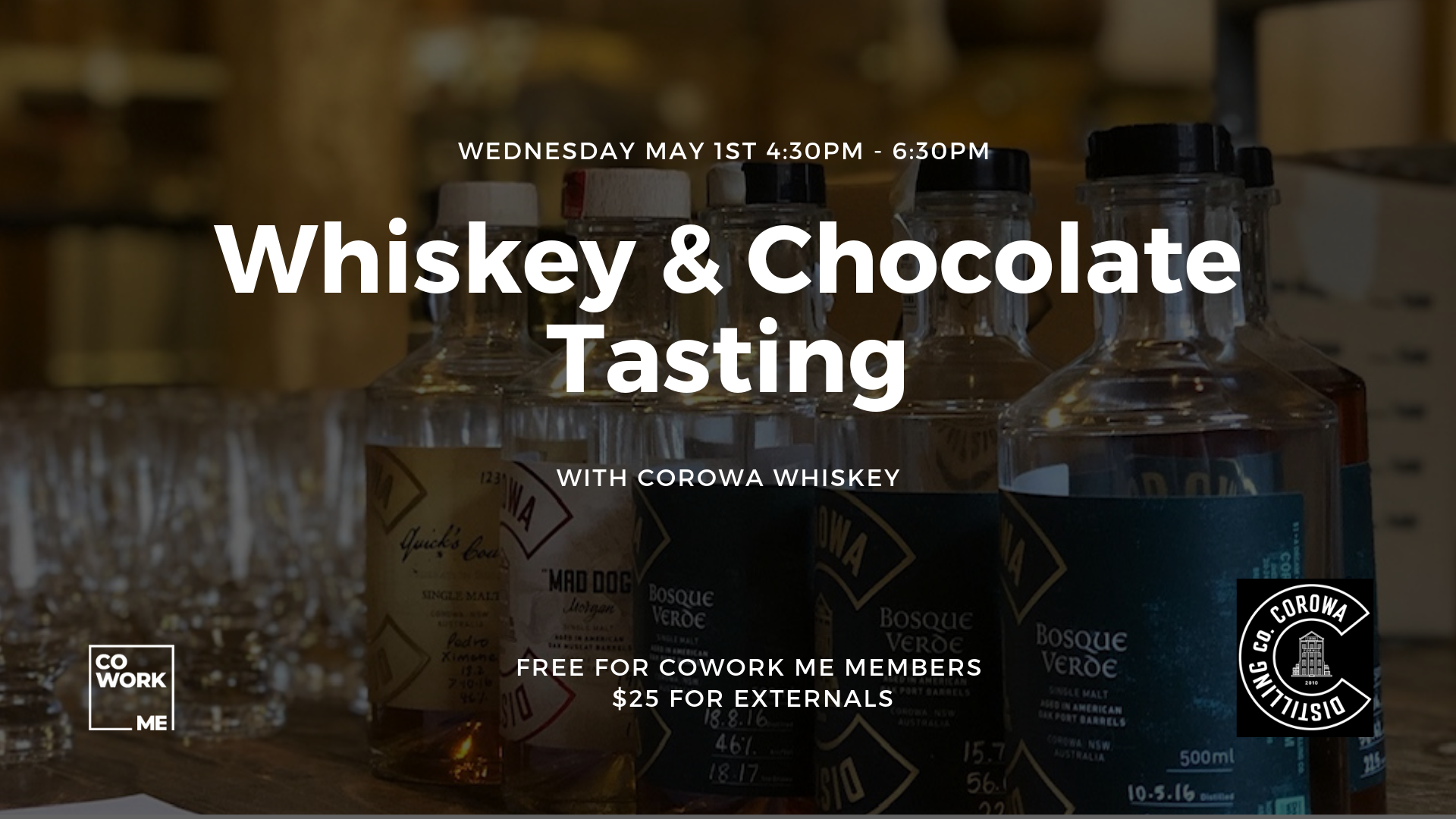Whiskey & Chocolate Tasting