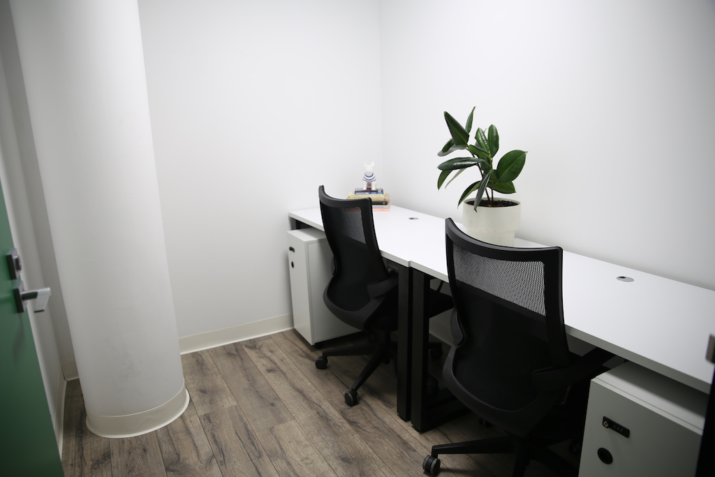 Two person office at CoWork Me