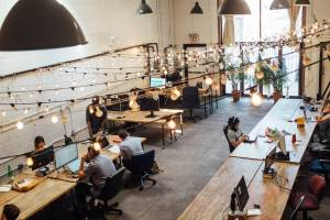 Open coworking space