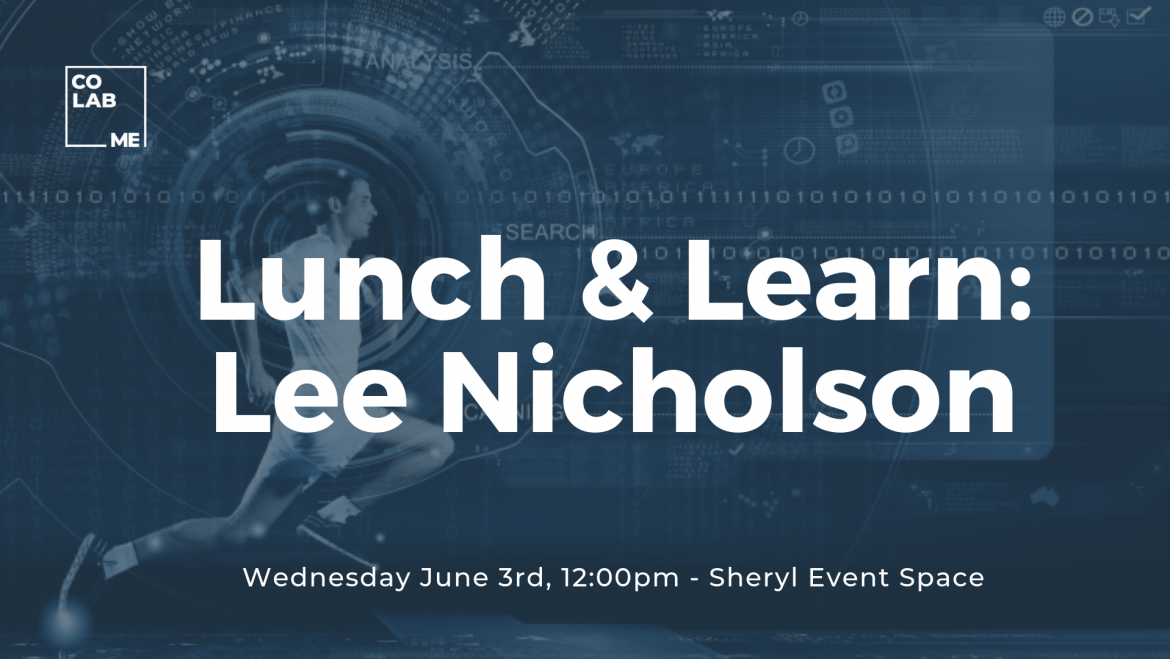 Lunch & Learn with Lee Nicholson